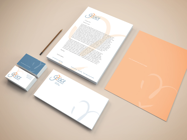 Grace Family Church stationery