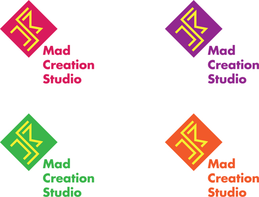 Mad Creation logo color variations