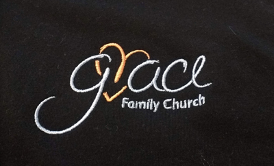 grace logo embroidered