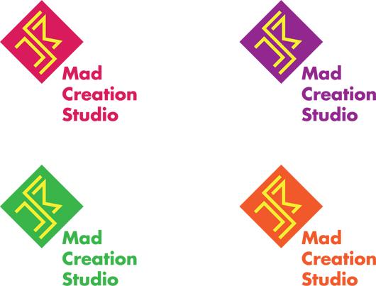 Mad Creation logo color variations