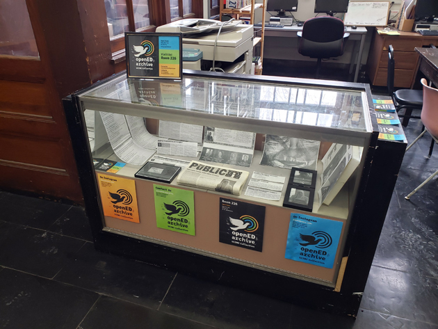 openED archive display