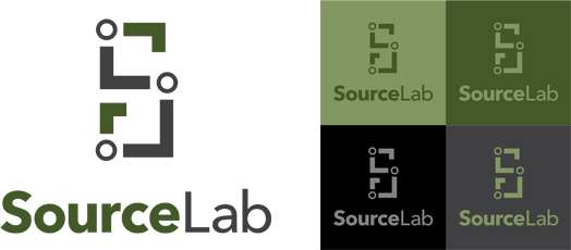 SourceLab green theme